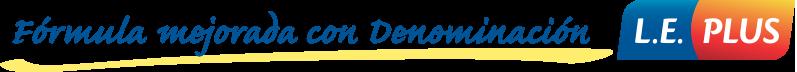 Fórmula mejorada con Denominación D.E. Plus